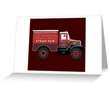 Carters Steam Fair Scammell Greeting Card