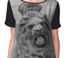 Perth Lion Chiffon Top