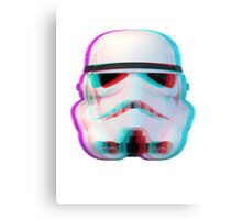 "Glitched ""Stormtrooper"" Canvas Print"