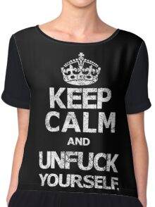 Keep Calm and.... Chiffon Top