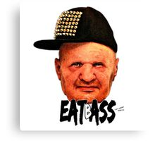 EAT BASS Canvas Print