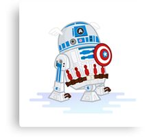 Captain R2D2 Canvas Print