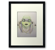 Don Illustration Framed Print