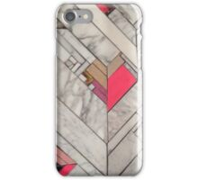 rose marble iPhone Case/Skin