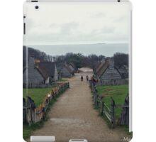 Plymouth Plantation iPad Case/Skin
