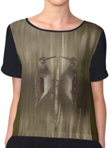 Knocking Yourself? Women's Chiffon Top