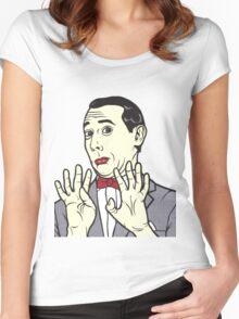 Pee Wee Herman Women's Fitted Scoop T-Shirt