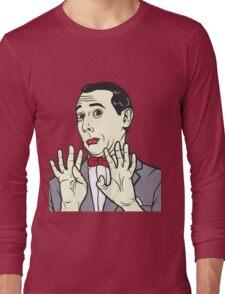 Pee Wee Herman Long Sleeve T-Shirt