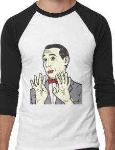 Pee Wee Herman Men's Baseball ¾ T-Shirt