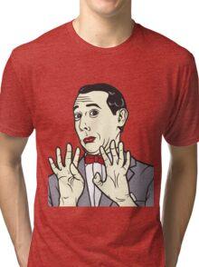 Pee Wee Herman Tri-blend T-Shirt