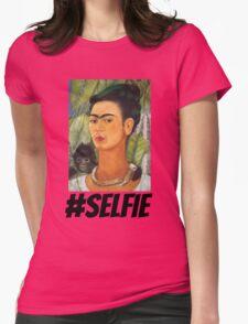 Frida #SELFIE Womens Fitted T-Shirt