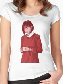 Shy Women's Fitted Scoop T-Shirt