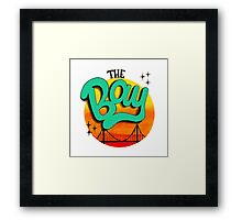 The Bay, California Framed Print