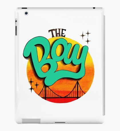 The Bay, California iPad Case/Skin