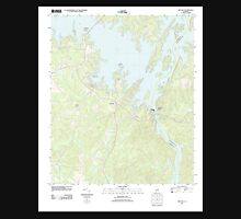 USGS TOPO Map Alabama AL Red Hill 20110923 TM Unisex T-Shirt