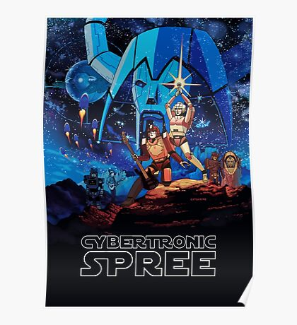 Cybertronic Star Wars  Poster