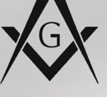 My Brothers Keeper Freemasons Sticker