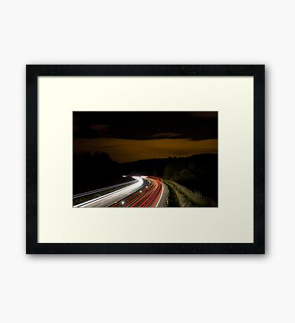 Where are they going Framed Print