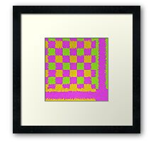 """""""threads"""" abstract Framed Print"""