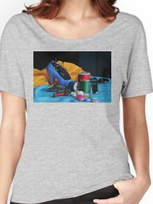 SPOOLS AND BOBBINS Women's Relaxed Fit T-Shirt