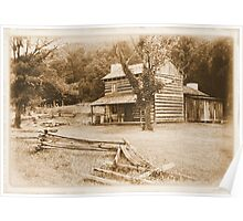 """""""Philip's Place, from the Fence Line""""... prints and products Poster"""