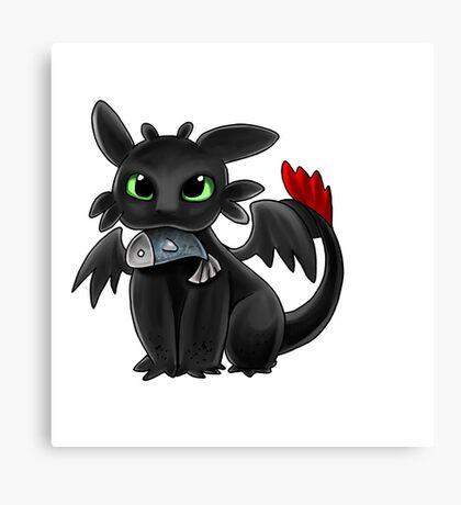 The Cute Dragon Canvas Print