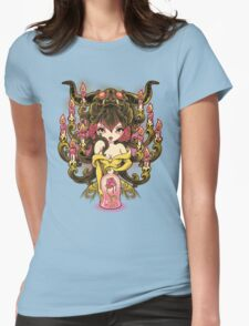 Candelabra Womens Fitted T-Shirt