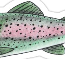 Trout Friend Sticker