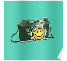 Smiley camera Poster