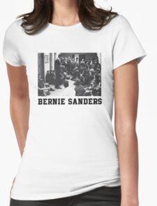 Bernie Goes Punk Womens Fitted T-Shirt