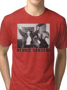 Bernie Goes Punk (2) Tri-blend T-Shirt