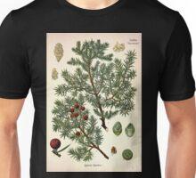 Köhler's Medizinal Pflanzen in naturgetreuen Abbildungen mit kurz erläuterndem Texte  Atlas zur Pharmacopoea 1883 1914 V3 079 Juniperus Oxycedrus Juniper Unisex T-Shirt