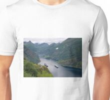 The Beautiful Geirangerfjord Unisex T-Shirt