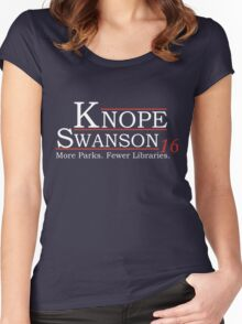 Knope Swanson 2016 Women's Fitted Scoop T-Shirt