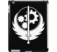 BOS - White iPad Case/Skin