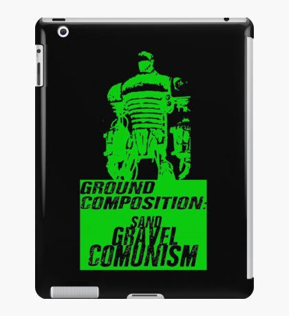 Ground Composition - Green iPad Case/Skin