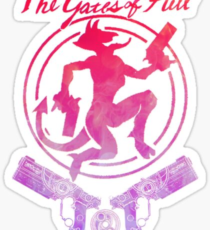 The Gates of Hell Sticker