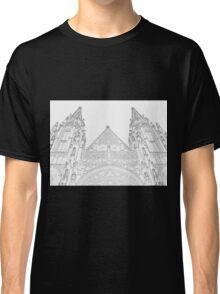 Prague castle towers Classic T-Shirt