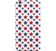 Red White and Blue Star Merchandise iPhone Case/Skin