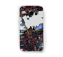 Abstract Map of New Bedford Samsung Galaxy Case/Skin