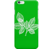 WHITE LEAVES iPhone Case/Skin