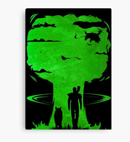 Atomic Warfare Canvas Print