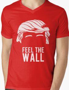 Donald Trump Feel the Wall  Mens V-Neck T-Shirt