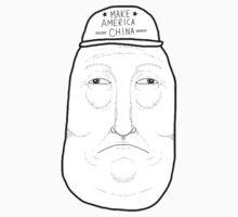 Handsome Potato or Donald Trump? One Piece - Short Sleeve