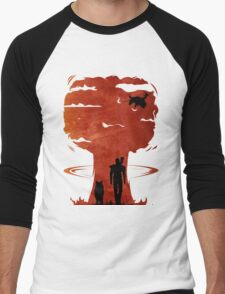 Atomic Warfare - Orange Men's Baseball ¾ T-Shirt