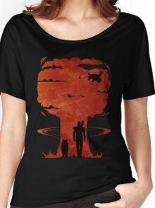 Atomic Warfare - Orange Women's Relaxed Fit T-Shirt