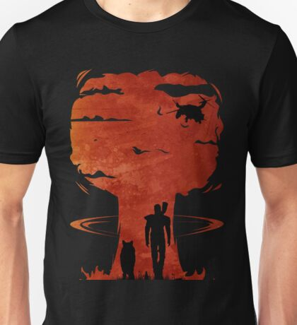 Atomic Warfare - Orange Unisex T-Shirt