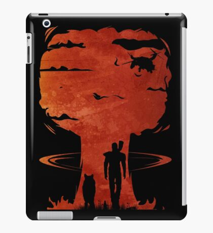 Atomic Warfare - Orange iPad Case/Skin