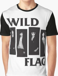 wild flag weiss carrie brownstein Graphic T-Shirt