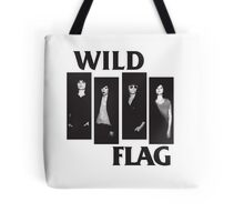 wild flag weiss carrie brownstein Tote Bag